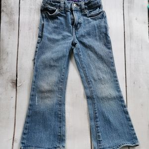 Girls Flared Levi's Jeans